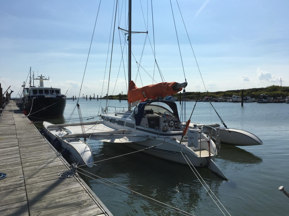 Hire Catamaran with or without skipper Quorning-Boat Valencia