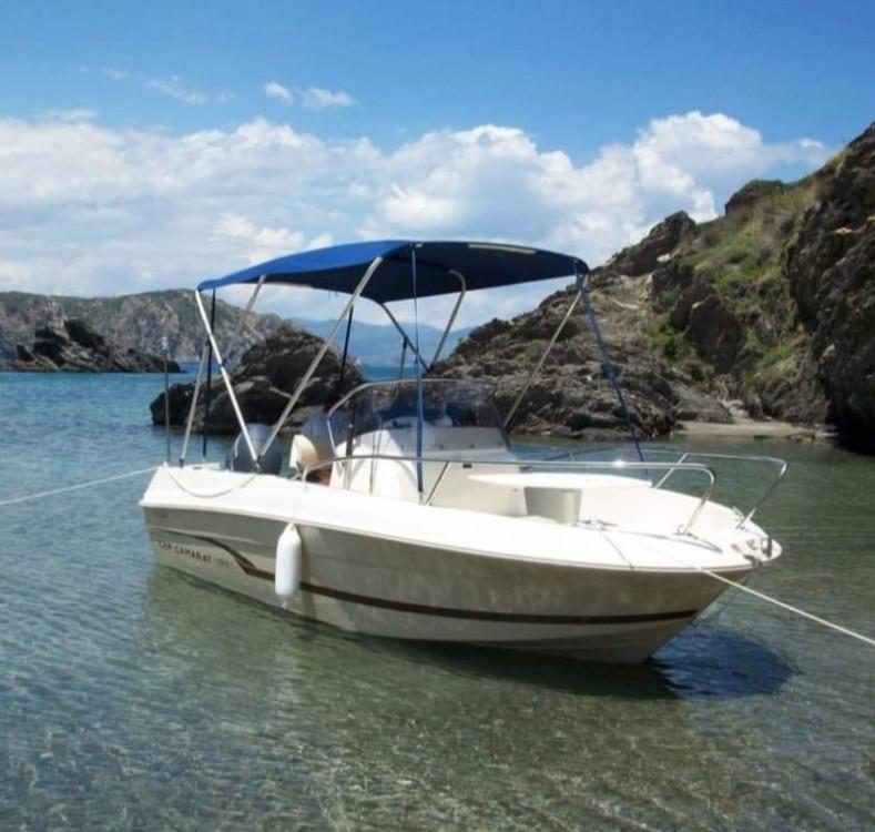 Verhuur Motorboot in Argelès-sur-Mer - Jeanneau Cap Camarat 505 Style