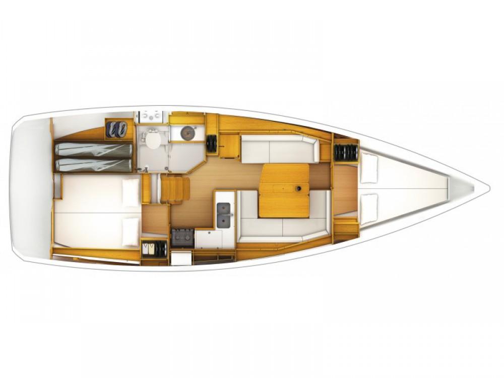 Huur Zeilboot met of zonder schipper Jeanneau in Paraty