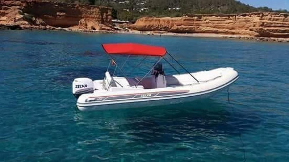 Location bateau Sant Antoni de Portmany pas cher 3D Tender 600 Patrol
