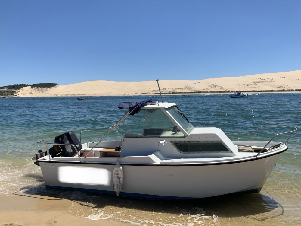 Hire Motor boat with or without skipper Tohatsu Arcachon