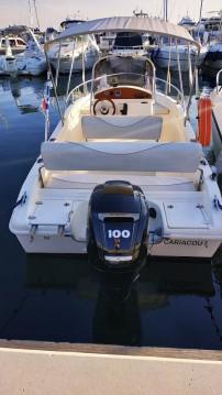 Louer Bateau à moteur avec ou sans skipper Blu&blu à Juan-les-Pins