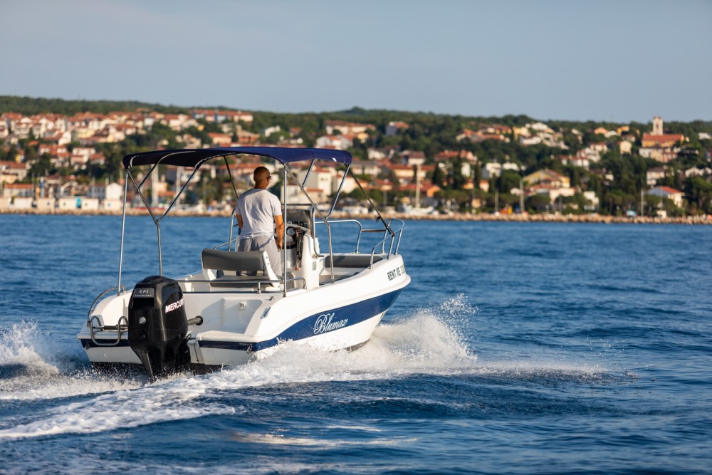 Rental yacht Malinska - Blumax 550 Open on SamBoat