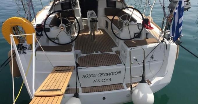 Location bateau Corfou pas cher Sun Odyssey 389