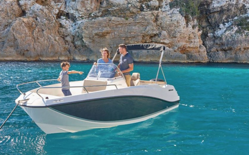 Verhuur Motorboot in Zadar - Quicksilver Activ 555 Open