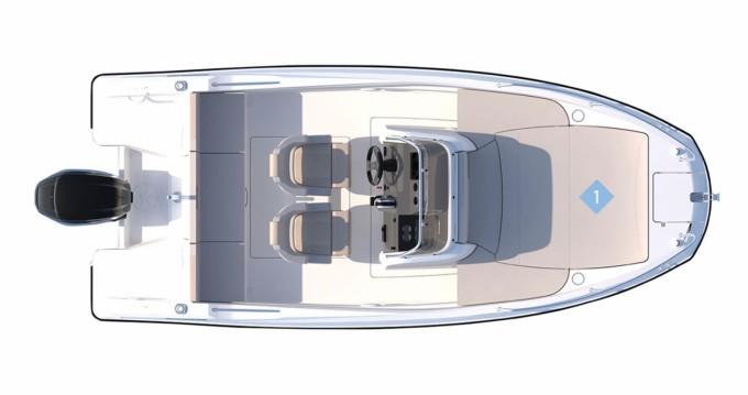 Location bateau Quicksilver Activ 555 Open à Zadar sur Samboat