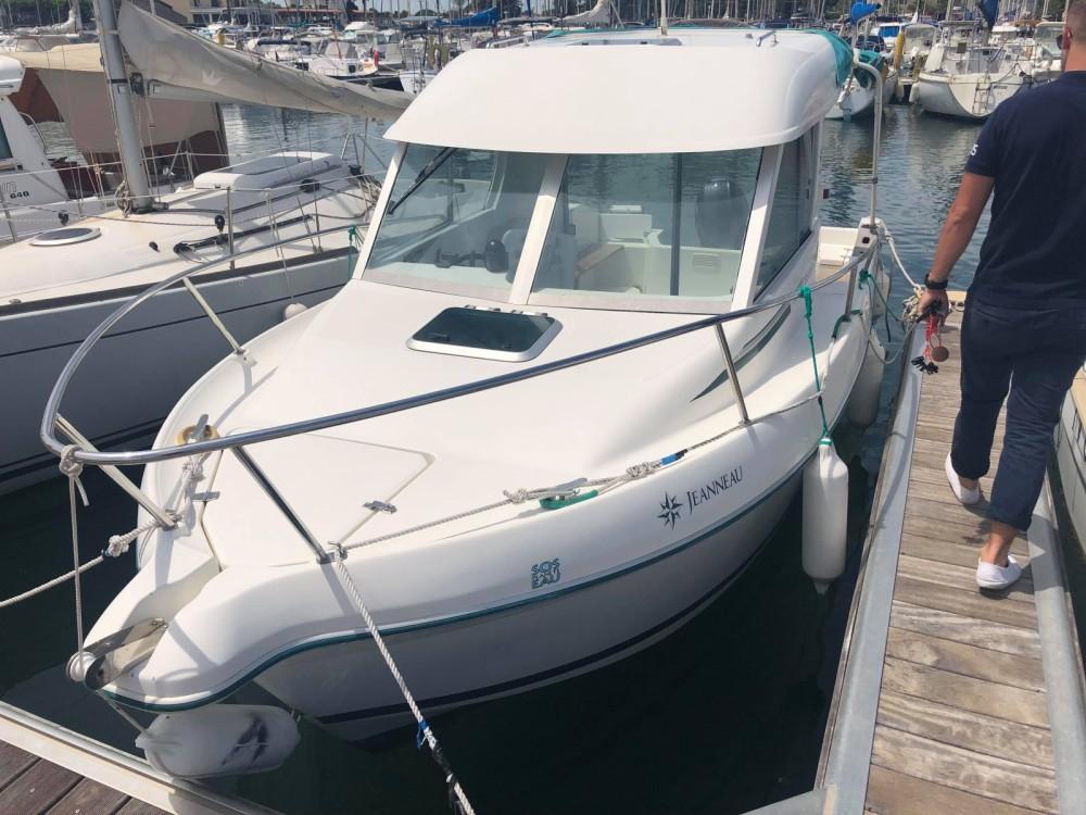Location yacht à Saint-Cyprien - Jeanneau Merry Fisher 610 Cruiser sur SamBoat