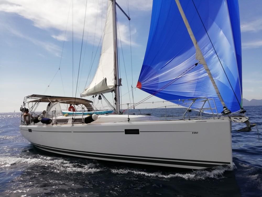 Jachthuur in Cannes - Hanse 385 via SamBoat
