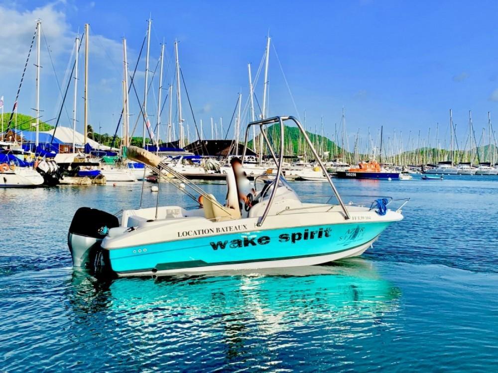 Verhuur Motorboot in Le Marin - beneteau&source FLYER 650