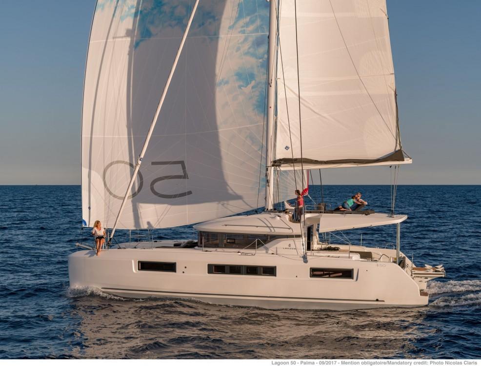 Verhuur Catamaran in Le Marin - Lagoon Lagoon 50