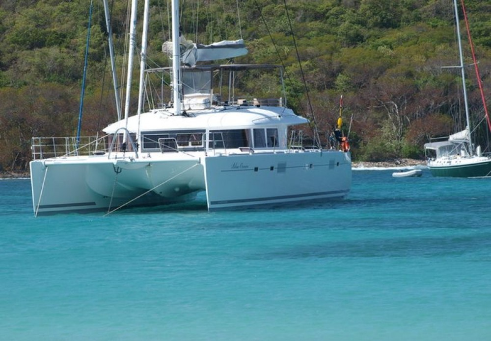Lagoon Lagoon 560 te huur van particulier of professional in Le Marin