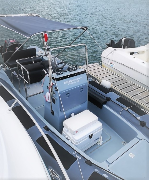 Hire RIB with or without skipper Valiant Argelès-sur-Mer