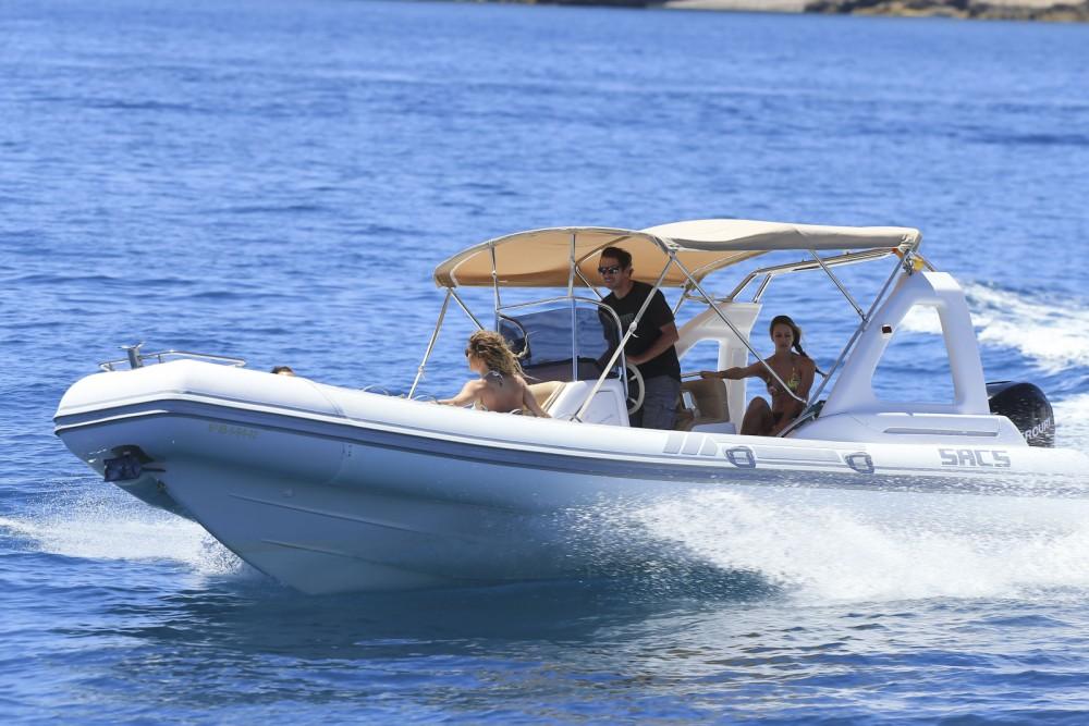 Huur Motorboot met of zonder schipper Sacs in Ibiza