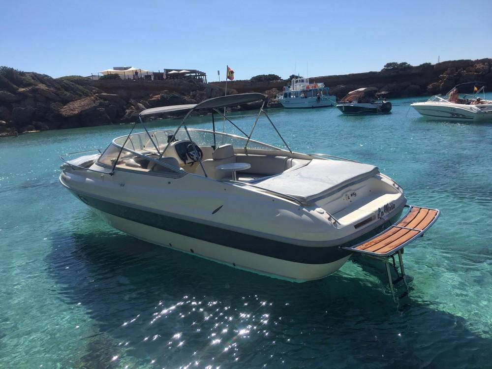 Verhuur Motorboot in Club Naútico. - Cranchi Turchese 24