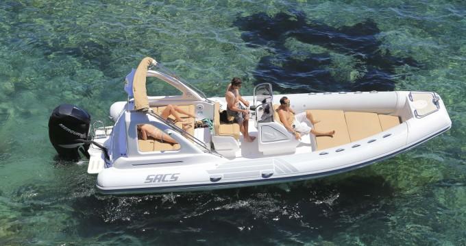 Location Bateau à moteur à Ibiza (Ville) - Sacs Sacs S 25 Dream