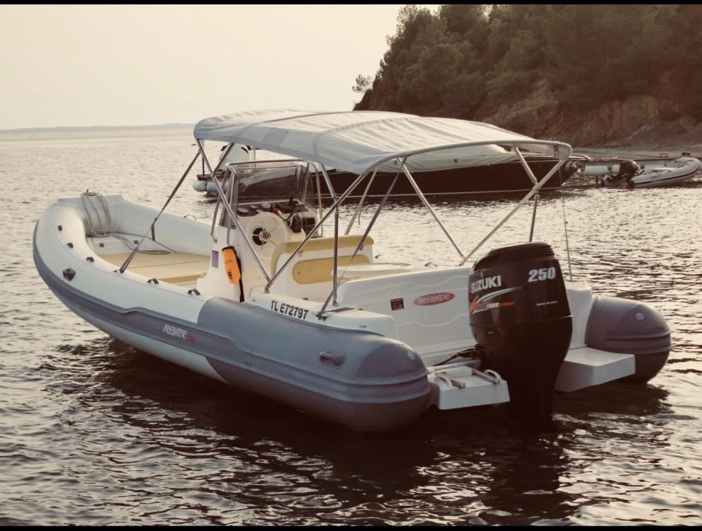 Schlauchboot mit oder ohne Skipper Predator mieten in Hyères