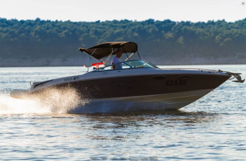 Verhuur Motorboot in Barbat na Rabu - Sea Ray 240 Sun Sport