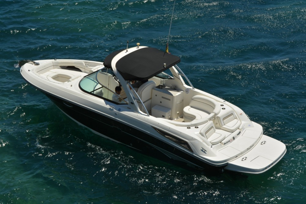 Verhuur Motorboot in Ibiza - Sea Ray Sea Ray 300 SLX