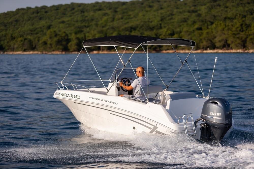 Rent a AM Yacht Prince 570 Open Malinska