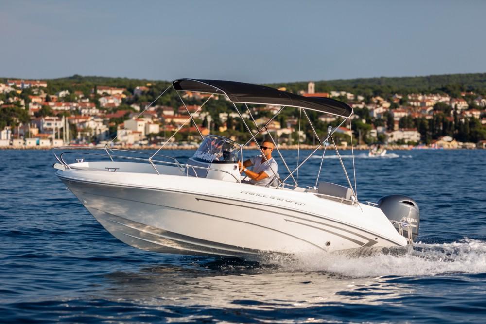 Rental Motor boat in Malinska - AM Yacht Prince 570 Open