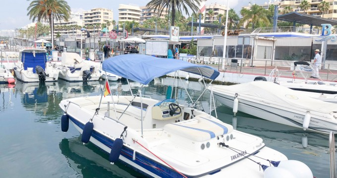 Location Semi-rigide à Marbella - Bayliner 6m