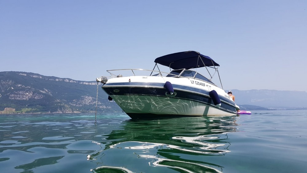 Hire Motor boat with or without skipper Four Winns Le Bourget-du-Lac