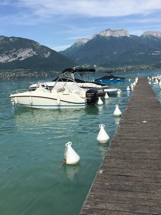 Verhuur Motorboot in Sevrier - Quicksilver Activ 505 Open