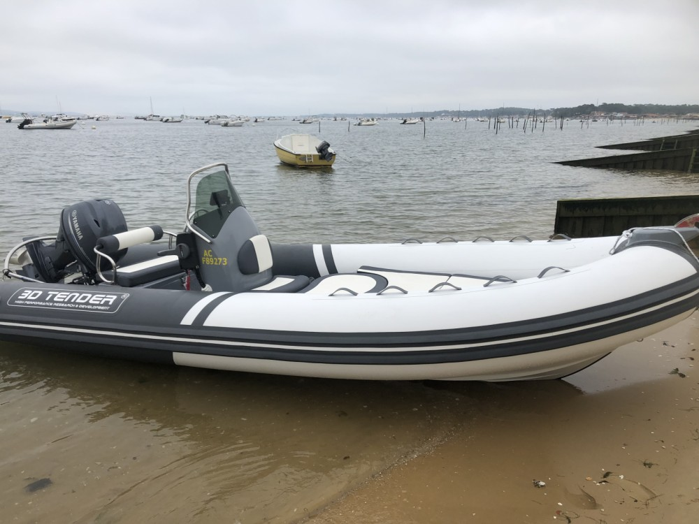 Hire RIB with or without skipper 3D Tender Lège-Cap-Ferret