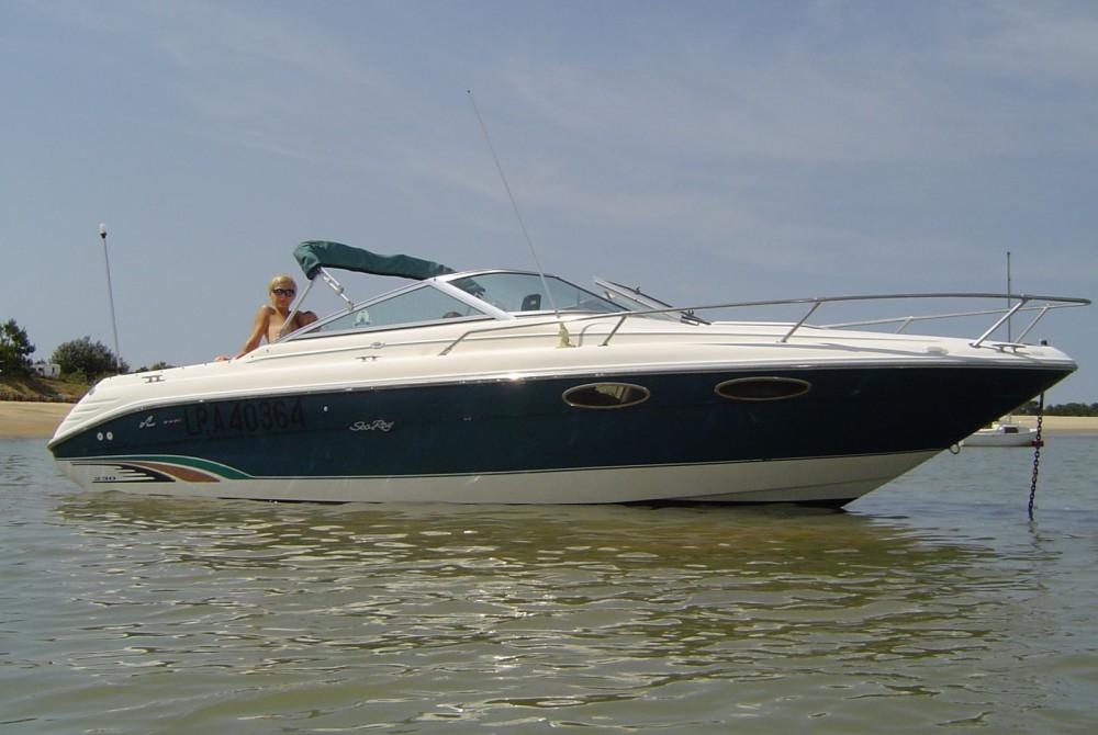 Bootverhuur Meschers-sur-Gironde goedkoop Sea Ray 230 Overnighter