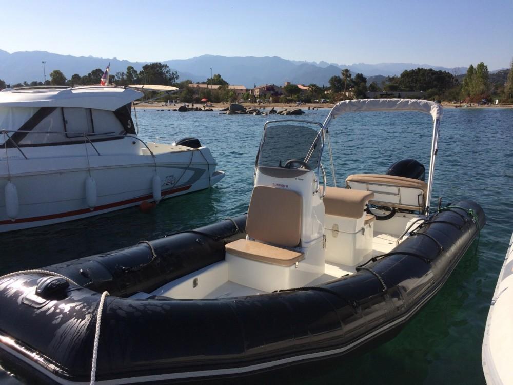 Huur Rubberboot met of zonder schipper Bombard in Porto-Vecchio