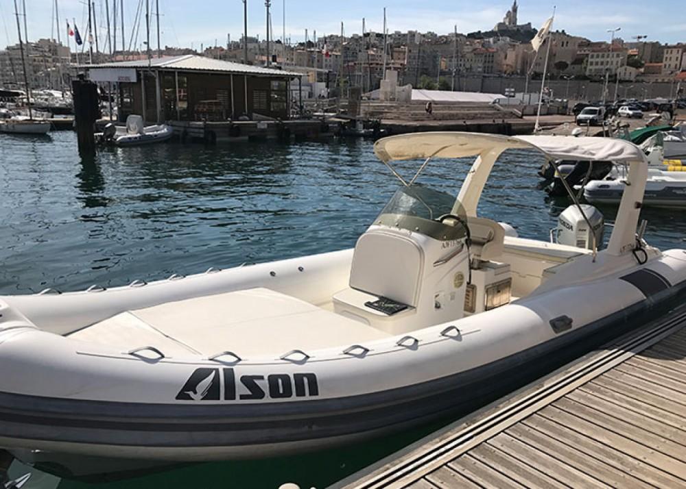 Verhuur Rubberboot in Marseille - Alson Flash 750