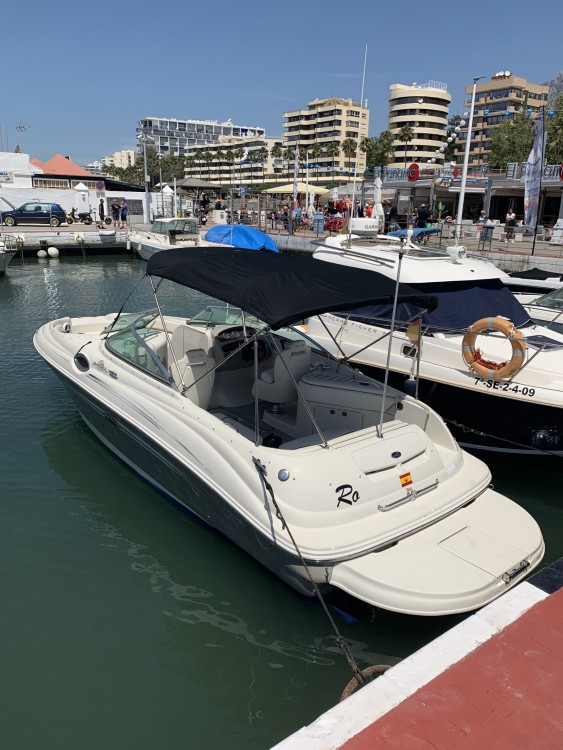 Sea Ray SUNDECK 240 between personal and professional Marbella