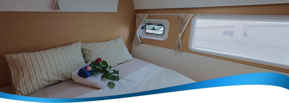 Verhuur Catamaran in Athene - Lagoon Lagoon 420