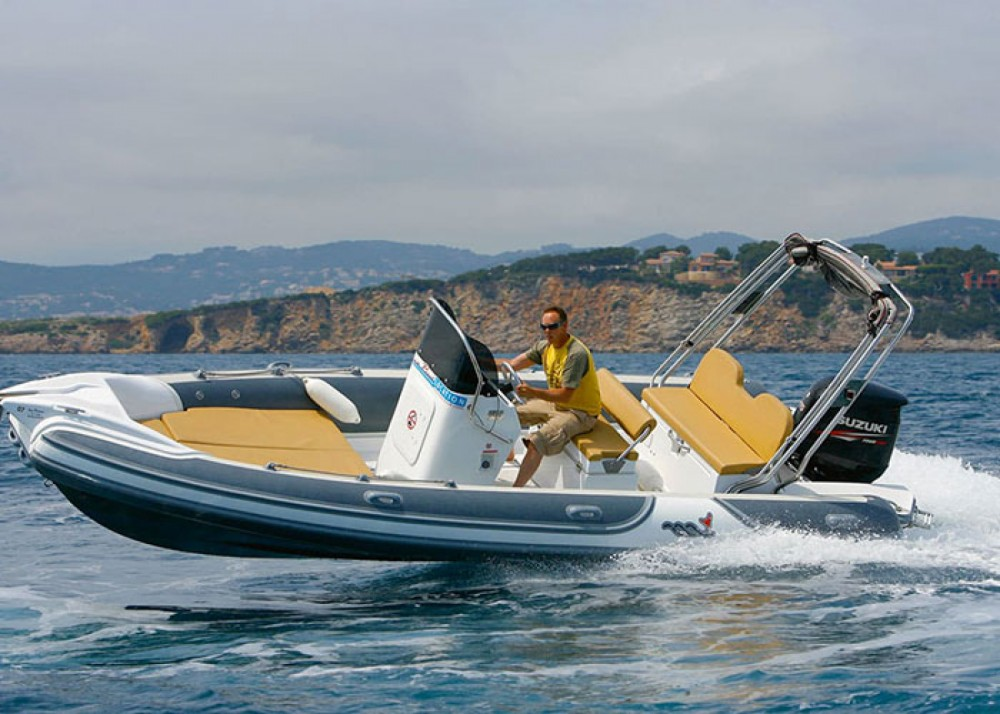 Rubberboot te huur in Marseille voor de beste prijs
