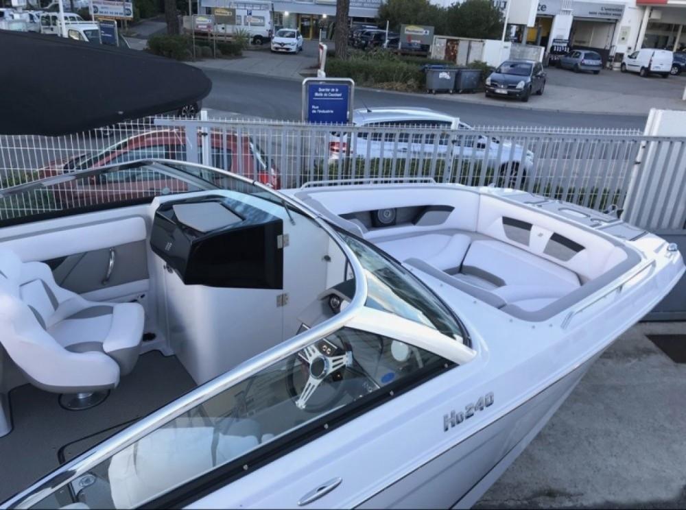 Verhuur Motorboot in Palavas-les-Flots - Four Winns HD 240 OB