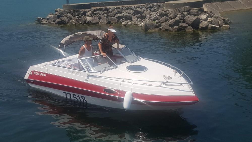 Huur Motorboot met of zonder schipper Four Winns in Aix-les-Bains