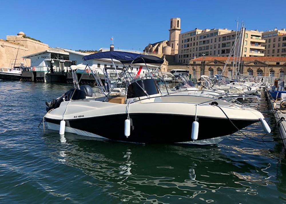 Verhuur Motorboot in Marseille - Quicksilver Quicksilver 635 Open