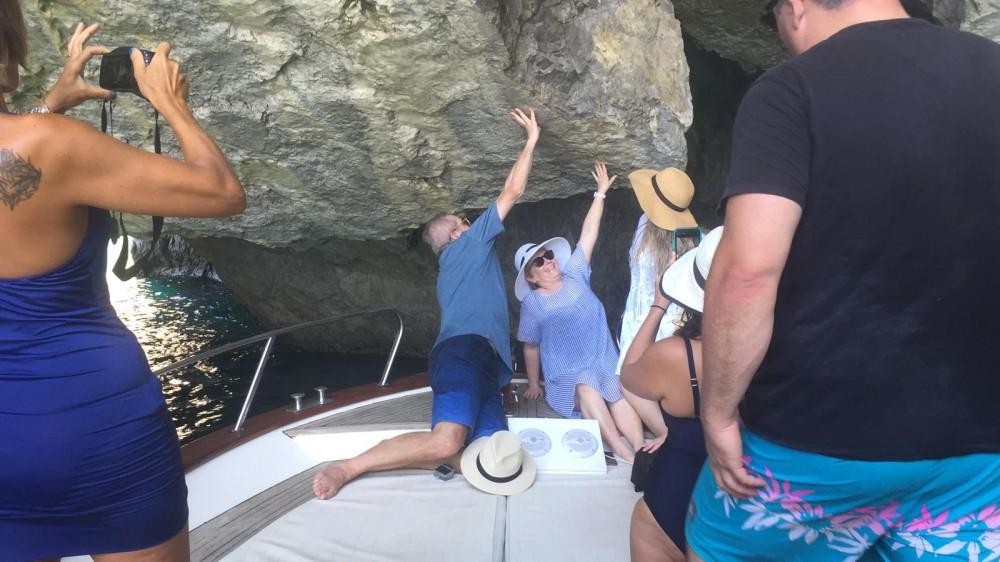 Verhuur Motorboot in Positano - Apreamare 10mt