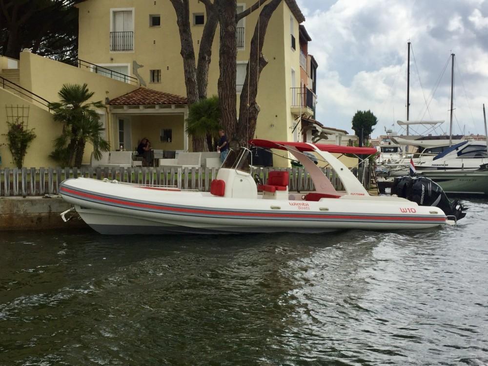 Rent a Wimbi Boats W10 Port Grimaud