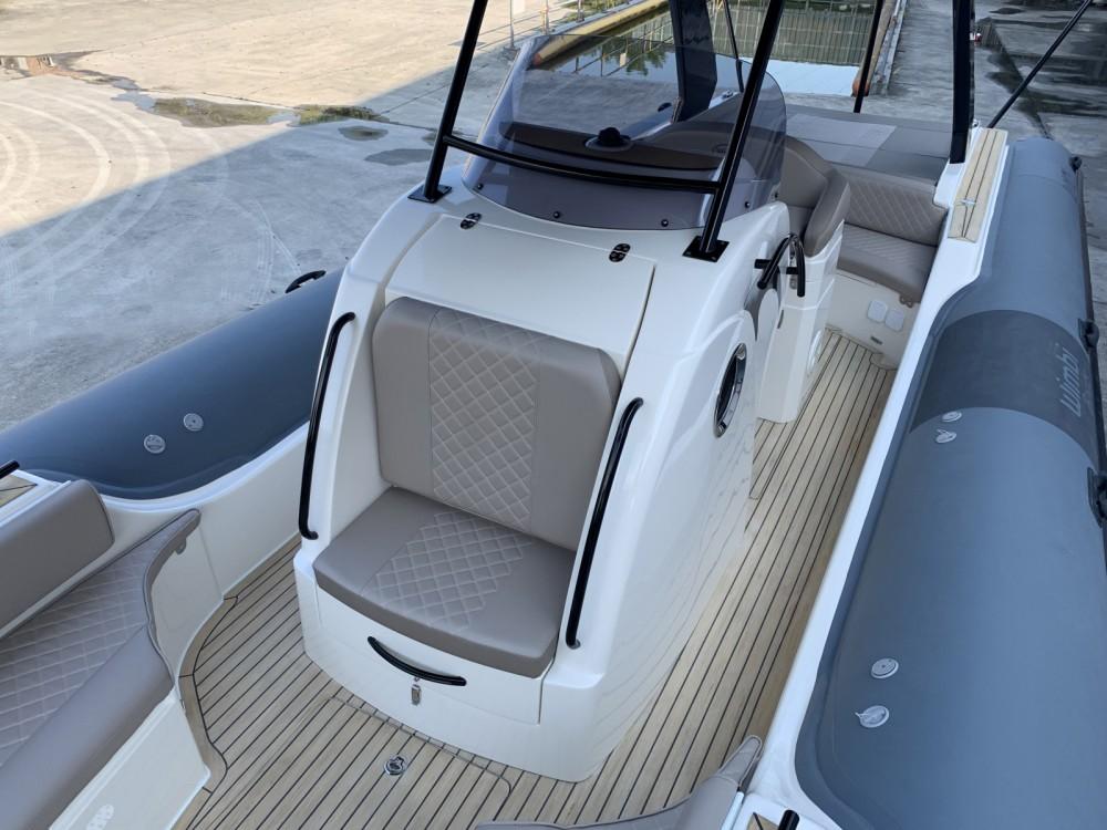 Verhuur Rubberboot in Port Grimaud - Wimbi Boats W10
