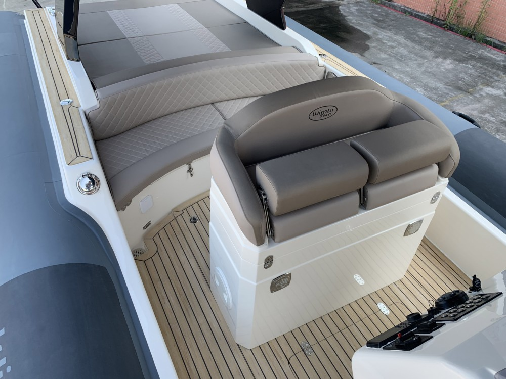 Verhuur Rubberboot Wimbi Boats met vaarbewijs