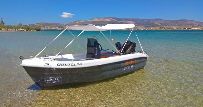 Location Bateau à moteur à Paros - The Sailor's Ride 455