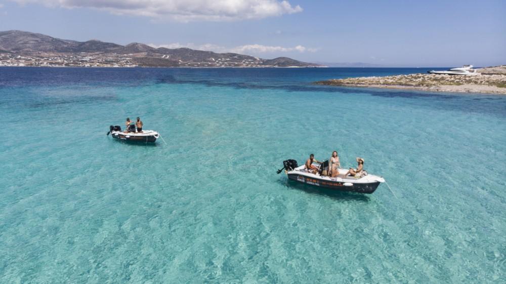 Huur Motorboot met of zonder schipper The Sailor's Ride in Παροικιά