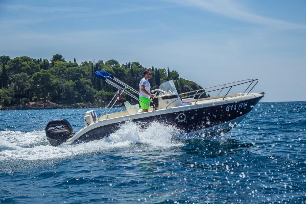 Verhuur Motorboot Fisher met vaarbewijs