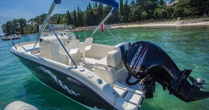 Location bateau Fisher 20 à Rovinj sur Samboat