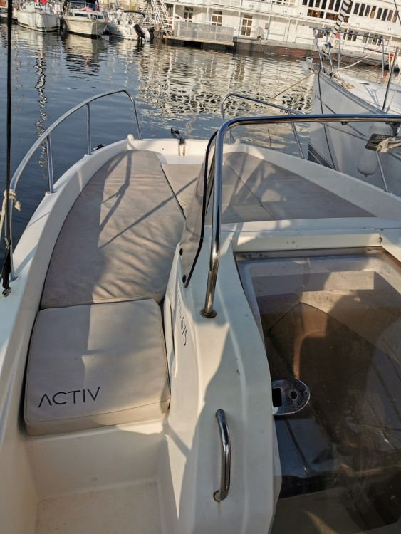 Bootverhuur Quicksilver Activ 675 Sundeck in Marseille via SamBoat