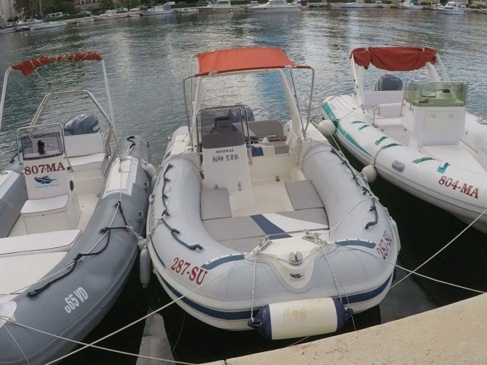 Huur Rubberboot met of zonder schipper Novomar in Omiš