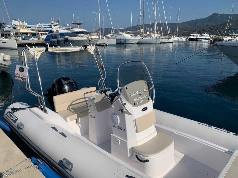 Hire RIB with or without skipper Valiant Propriano
