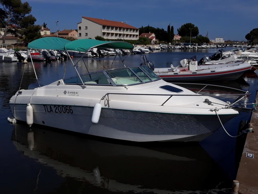 Location bateau Hyères pas cher Leader 605 HB