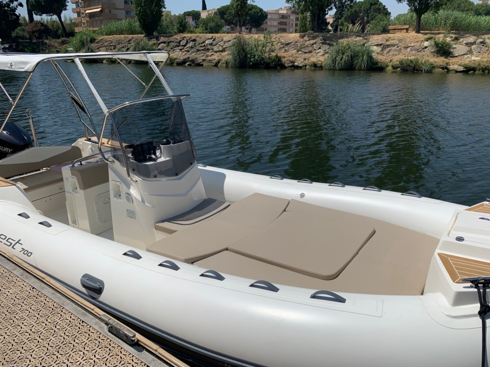 Rubberboot te huur in Mandelieu-la-Napoule voor de beste prijs